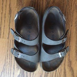 Birkenstock Leather Strappy Sandals